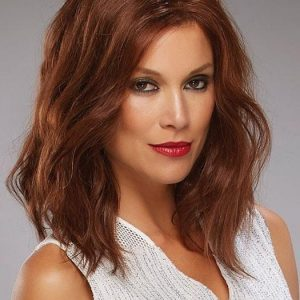 Top Quality Women Straight Monofilament Remy Human Hair Lace Front Wig