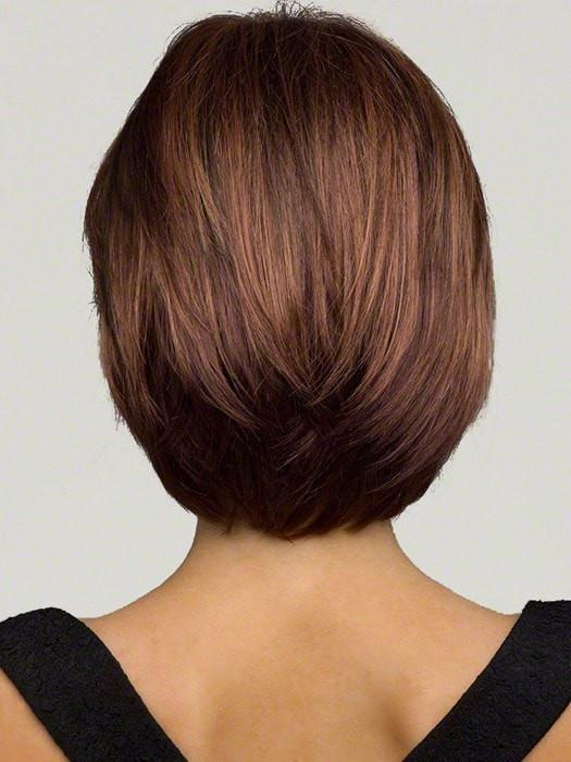 Cheap Women Short Straight Monofilament Mid-length Synthetic Top By Rooted