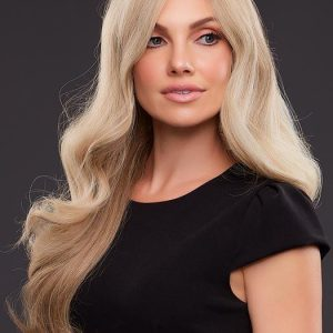 High End Women Wavy Remy Human Hair Lace Front Wig Hand-tied By Rooted