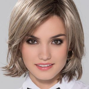 Top Quality Women Short Straight Synthetic Lace Front Wig By Rooted