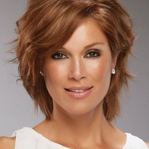 High End Women Straight Monofilament Remy Human Hair Lace Front Wig