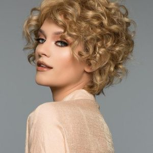 Top Quality Women Short Straight Monofilament Human Hair Wig Hand-tied