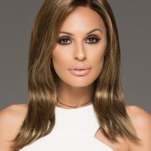 High End Women Straight Monofilament Synthetic Lace Front Wig By Rooted