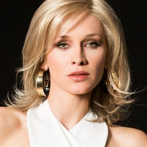 Fashion Women Straight Mid-length Synthetic Lace Front Wig By Rooted