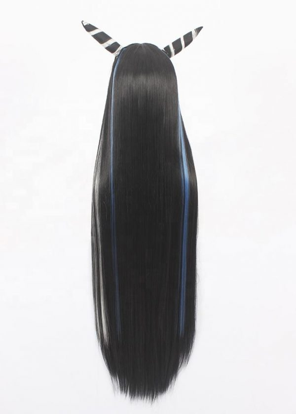 Fashion Women Long Straight Lace Front Average Bacic Cap Synthetic Wig
