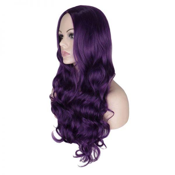 Popular Women Long Wavy Basic Cap Average Synthetic Wig
