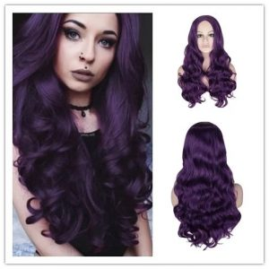 Popular Women Long Wavy Basic Cap Average Synthetic Wig