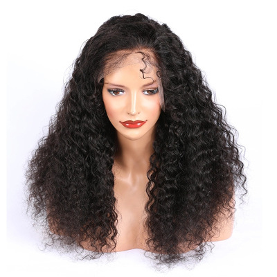 Fashion Women Long Curly Lace Front Bacic Cap Synthetic Wig