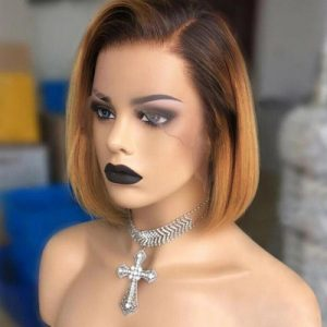 Cheap Women Short Straight Lace Front Average Synthetic Bacic Cap Wig