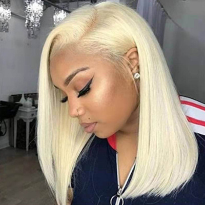Best Women Middle Length Straight Lace Front Bacic Cap Synthetic Wig